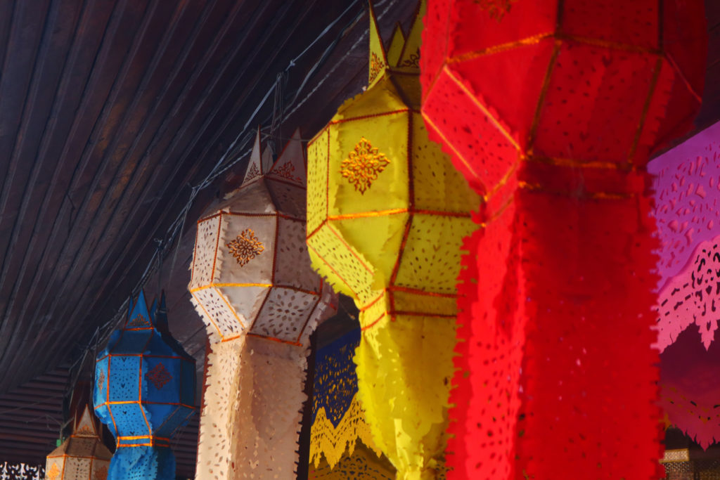 Colorful decoration in Thailand