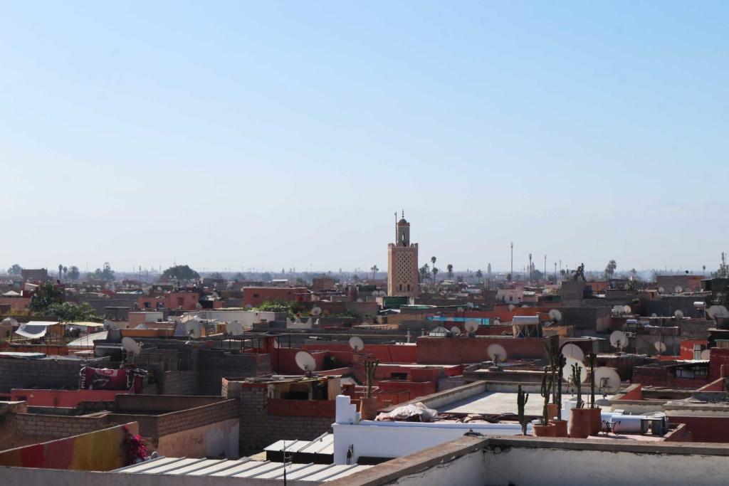 """View of from rooftop of """"La Maison de la Photographie"""""""