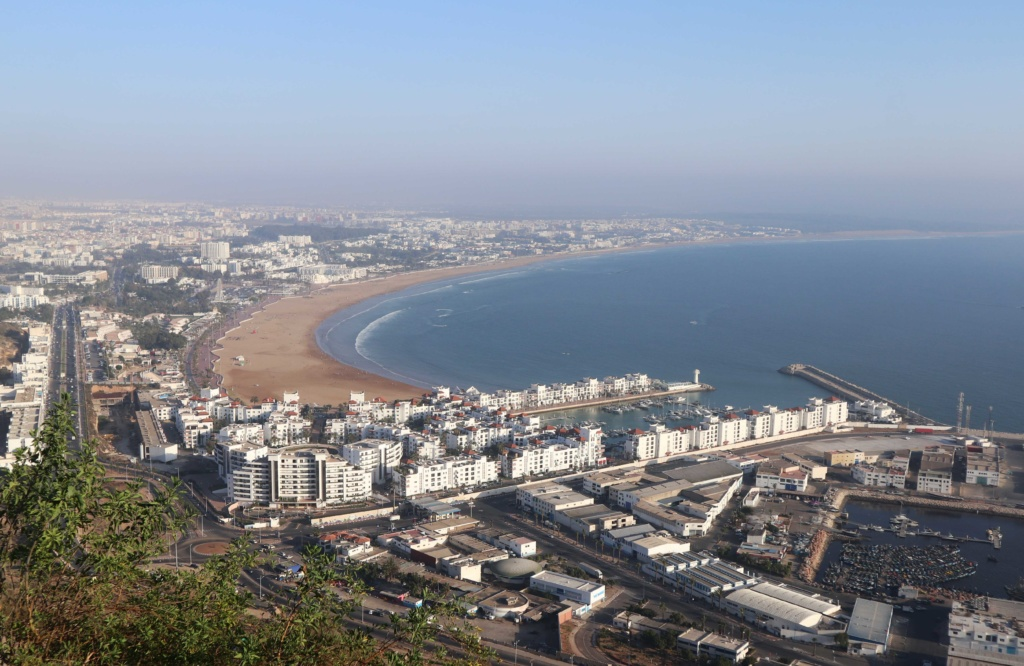 View from the Kasha of Agadir