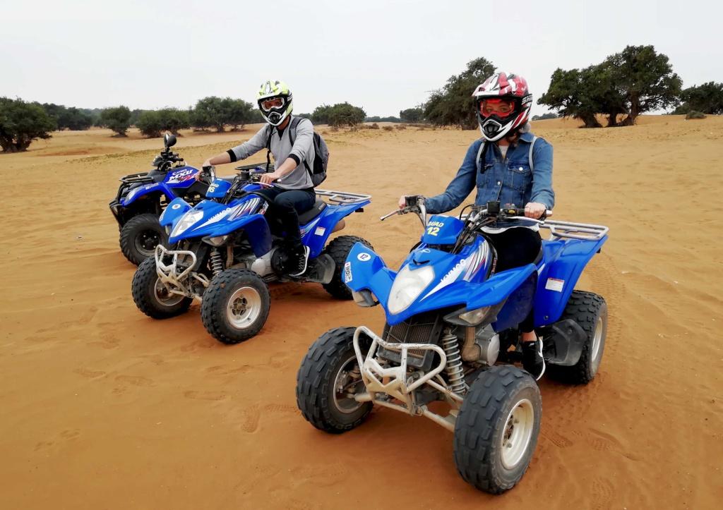 Quad riding in Agadir