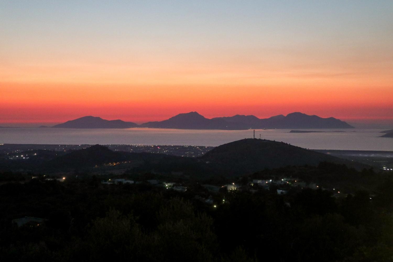 Sunset in Zia